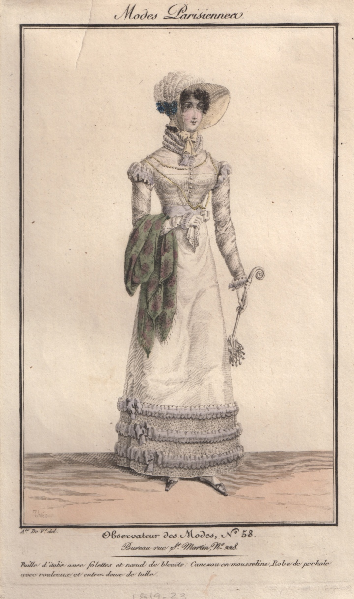 A Regency Lady's Walking Ensemble