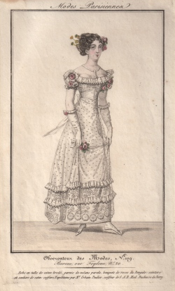 Regency Fashion Print of The Duchesse de Berry