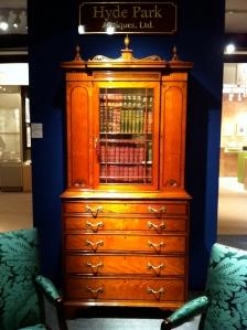 George III Secretaire Bookcase