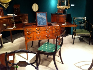 George III Mahogany Dressing Table