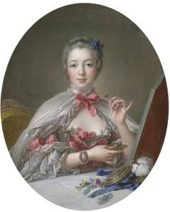 Madame du Pompadour at Her Toilette