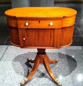 Work Table Attributed to Duncan Phyfe 1805-1815