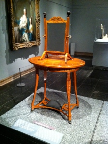 Oval Dressing Table  George A. Schastey and Company ca. 1883