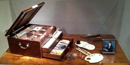 Miniature Portrait Painter's Box