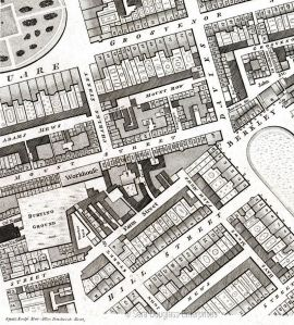 Horwood Map of London 1799