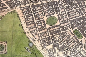 Christopher and John Greenwood's Map of London 18276a00d8341c84c753ef0168e7420e96970c-800wi