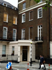 John Adams House Grosvenor Square