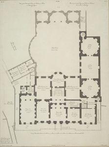 Shelbourne_House_1765 later Lansdowne House