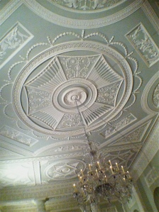 Ceiling of Dining Room of Lansdowne House