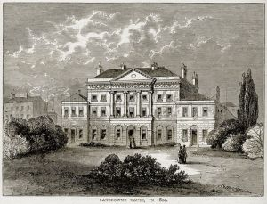 Lansdown House 1800s