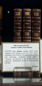 First Edition of Emma