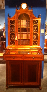 George III Secretaire Bookcase