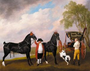 The Prince of Wales's Phaeton by George Stubbs