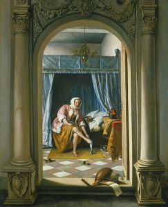 A Woman at her Toilet by Jan Steen