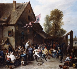 A Kermis on St. George's Day by David Teniers the Younger