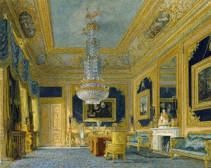 The Blue Velvet Room at Carlton House