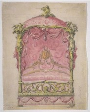 John Linnell's design for a State Bed, 1765
