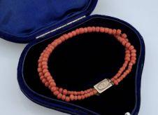 Georgian Red Coral Bracelet