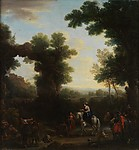 Classical Landscape with Gypsies by John Wootton, ca. 1748