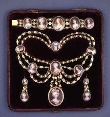 Georgian Esclavage Necklace ca.1815
