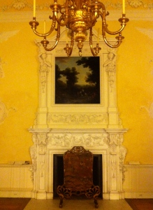 Chimneypiece Kirtlington Park