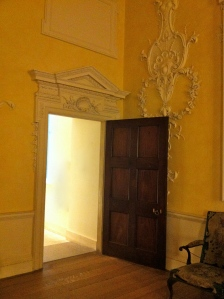 Door to the Dining Room at Kirtlington Park