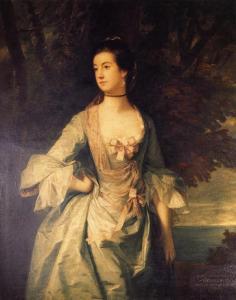 Mrs. Hugh Bonfoy by Joshua Reynolds, 1754