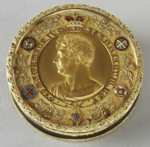 Snuff Box made by Rundell, Bridge & Rundell