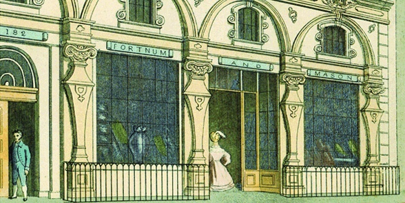 You Can Still Shop in the Footsteps of Regency EraCelebrities