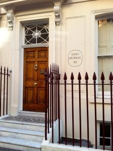 John Murray's Residence in London