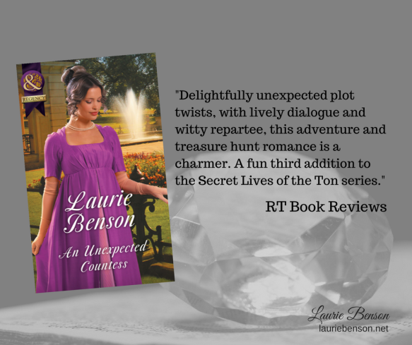 Delightfully unexpected plot twists, with lively dialogue and witty repartee, this adventure and treasure hunt romance is a charmer. Benson pits an independent American heroine with a