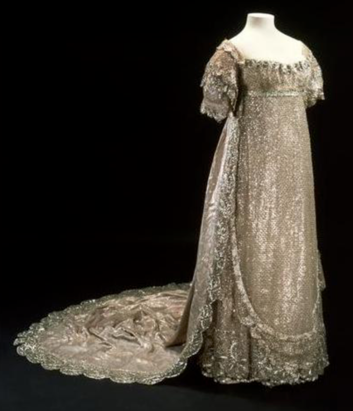The Regency Era Wedding Gown of Princess Charlotte of Wales