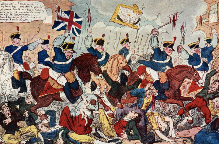 Protests and fake news during the Regency era: The Peterloo Massacre